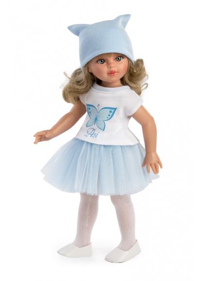 Sabrina Blue Tull Skirt Butterfly T-shirt