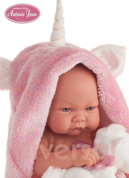 Reién Nacido Nica Unicornio 42 Cm