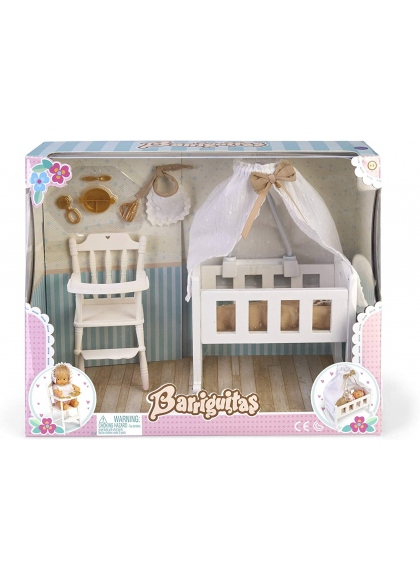 Barriguitas Kinderbett Set