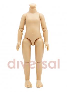 Corps de poupée articulé caucasien