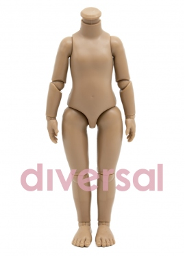 Articulated Body For Mulatto Doll