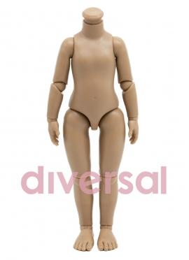 Corps de poupée articulé Mulâtre