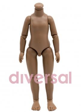 Cuerpo Para Muñeca Articulada Negrita