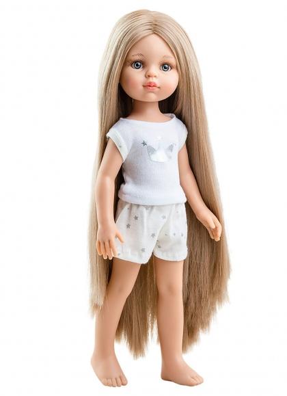 Carla Extra Long Hair In Pajamas 32 cm Paola Reina Las Amigas Dolls 32 cm