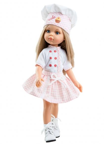 Carla Pastelera 32 cm Paola Reina Las Amigas Dolls 32 cm