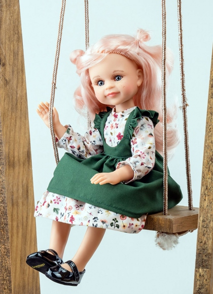 Cleo Articulated With Green Set