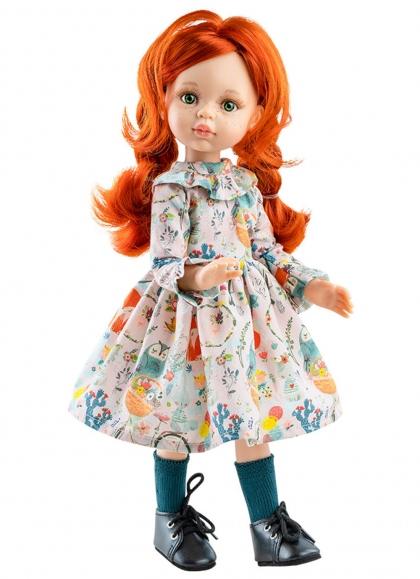 Cristi Articulated mit bedrucktem Kleid