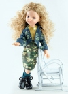 Articulated Manica With Camouflage Set Paola Reina Las Amigas Dolls 32 cm