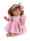 Noor Pink Tull Dress 46 cm