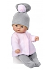Bomboncin Gray And Pink Trousers Set 20 cm