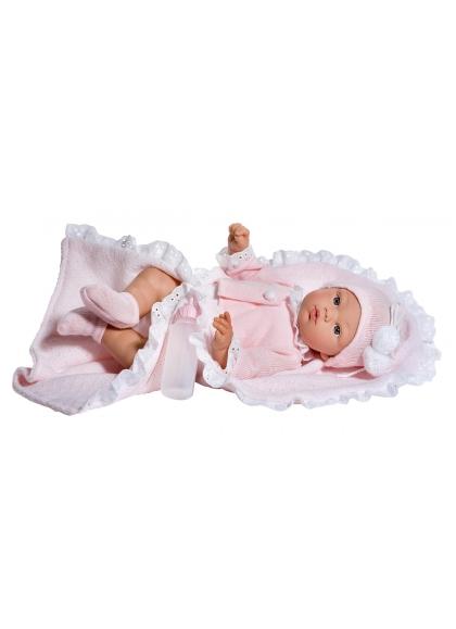 Koke Vestido Rosa Rombos Minis 36 cm