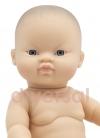 GORDI DESNUDO ASIÁTICO Muñecas Paola Reina los Gordis 34 Cm Bebes sin Ropa