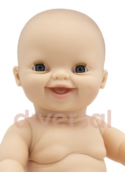 GORDI DESNUDO EUROPEA Muñecas Paola Reina los Gordis 34 Cm Bebes sin Ropa