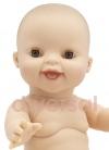GORDI DESNUDO NIÑA EUROPEA Muñecas Paola Reina los Gordis 34 Cm Bebes sin Ropa