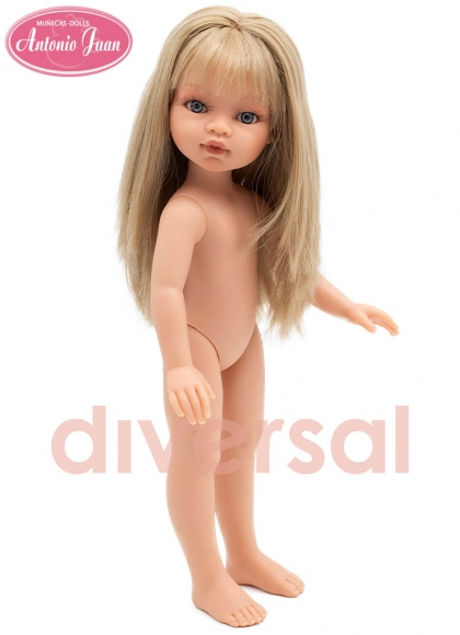 Emily Blonde Avec Bangs 33 cm Édition Spéciale Antonio Juan Sans Vêtements