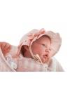 Sweet Reborn Nacida Pelirroja Gorrito 40 cm
