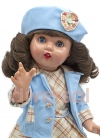 Марикита Перес в бирюзовом наряде