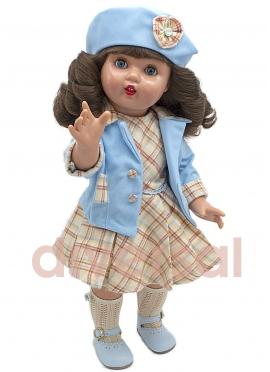 Mariquita Perez avec tenue turquoise