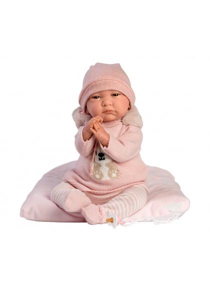 Reborn Sans Cheveux Rose 42 Cm Reborn Babies Poupées Llorens Reborn Babies Llorens 18013