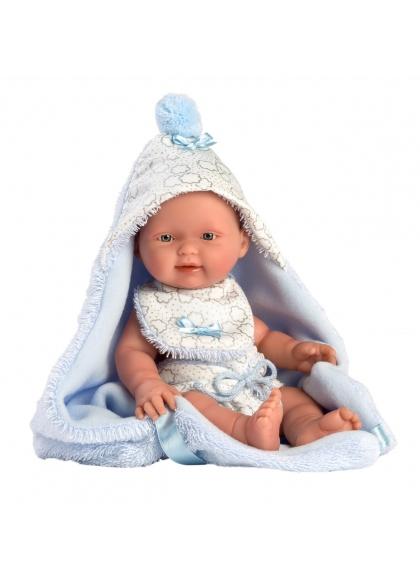 Baby Boy With Cape 26 Cm Очень мягкие куклы Llorens для новорожденных 26307