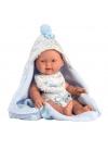 Baby Boy With Cape 26 Cm Very Soft Newborn Llorens Dolls 26307