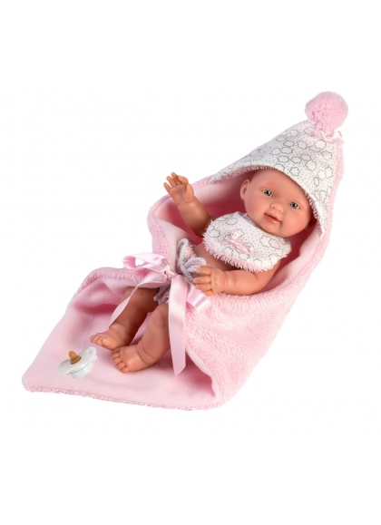 Bébé fille avec cape 26 Cm