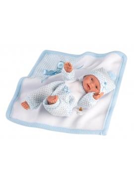 Baby mit Decke 26 cm