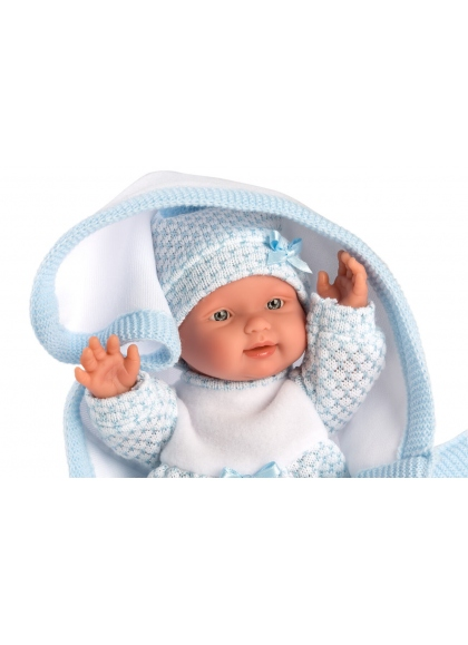 Baby With Blanket 26 Cm