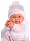 Baby Girl With Blanket 26 Cm