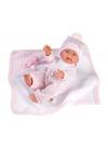 Baby Girl With Blanket 26 Cm Very Soft Newborn Llorens Dolls 26310