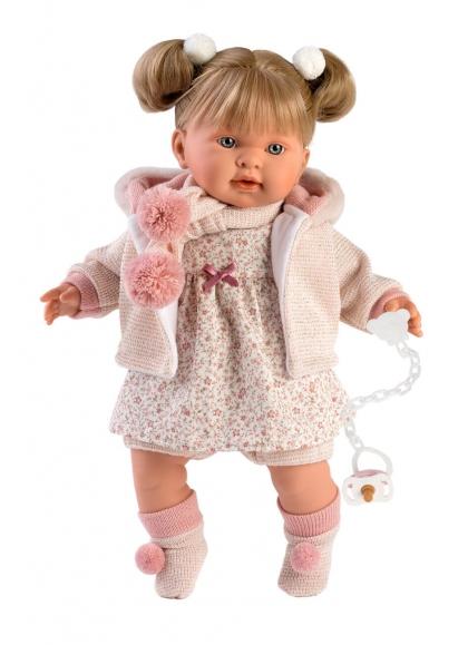 Alexandra Llorona Flowers Dress and 42 Cm Jacket Llorens Dolls Los llorones 42272