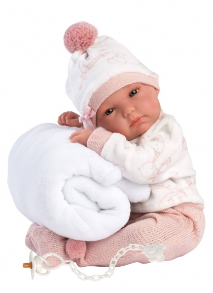 Bimba Rn 35 Cm Blanket 35 Cm Very Soft Newborn Llorens Dolls 63570