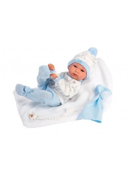 Bimbo Rn 35 Mantita 35 Cm Muñecas Llorens Recién Nacidos muy suaves 63571