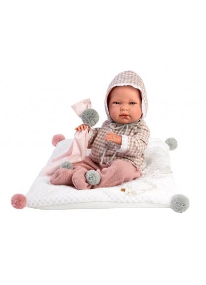 Nica Newborn Square Cushion 40 Cm