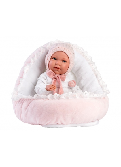 Mimi Llorona Cradle 42 Cm Newborn Llorens Dolls that cry 74088