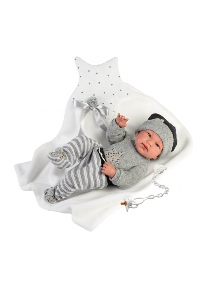 Coussin Tino Star 43 Cm Très Doux Llorens Newborn Dolls 84325