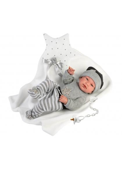 Tino Star Cushion 43 Cm Very Soft Llorens Newborn Dolls 84325