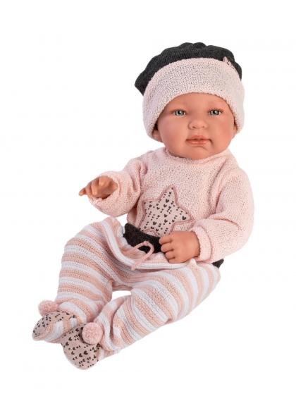 Ink Star Cushion 43 Cm Very Soft Newborn Llorens Dolls 84326