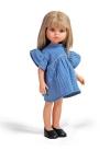 Carla mit blauem Kleid 32 cm