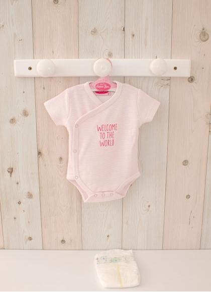 Reborn Pink Striped Body 40-42 cm