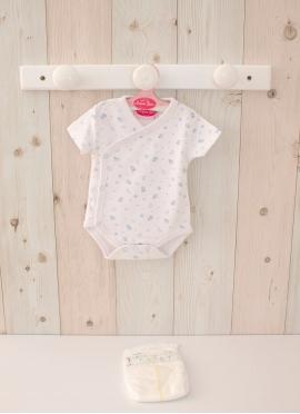 Reborn White Body Print 40-42 см