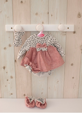 Reborn Set Gray and Pink 40-42 cm