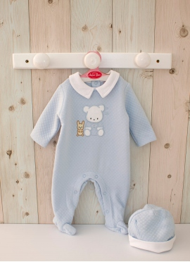 Blue Bear Pajamas 40-42 cm