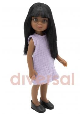 Nora mit lila Kleid 32 cm