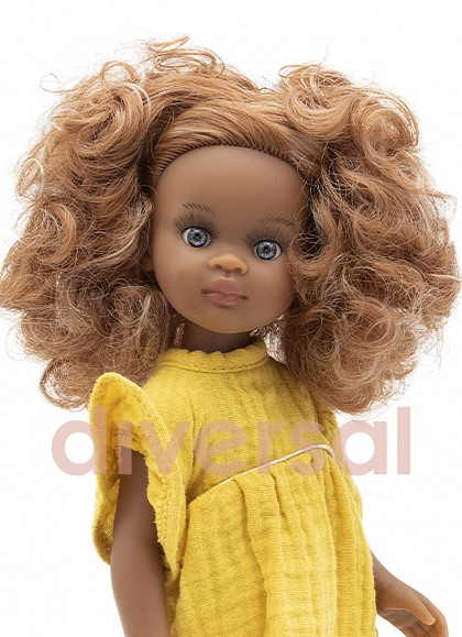 Nora Con Vestido Amarillo 32 cm