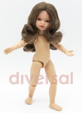 Emily Gelenkige Brünette 32 cm