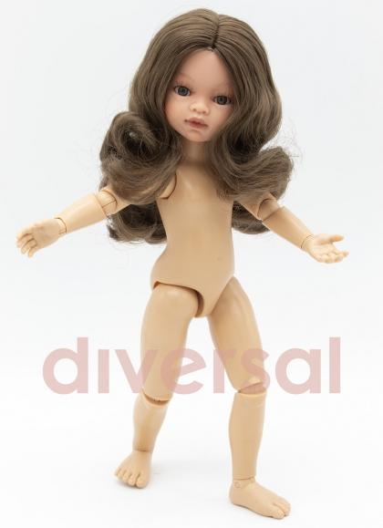 Emily capelli francesi articolati 32 cm