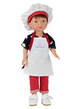 Albert Cook With Apron And Hat 28 cm