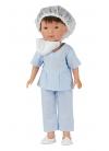 Albert Nurse With Blue Uniform 28 cm
