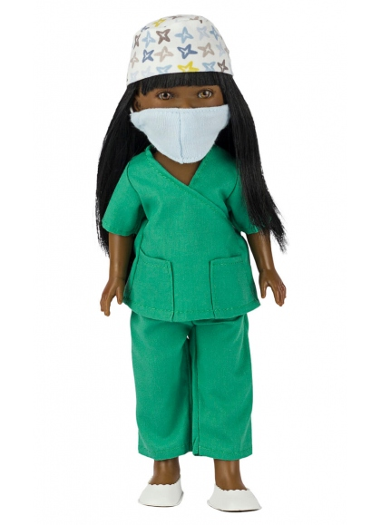 Brandy Surgeon With Green Uniform 28 cm